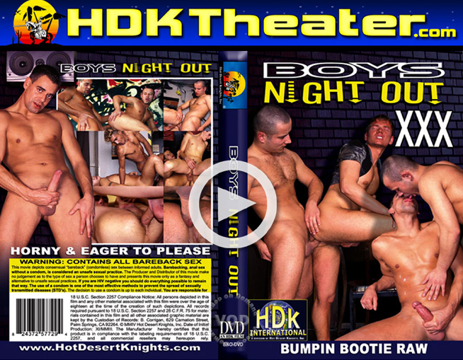 Hot Desert Knights: Boys Night Out