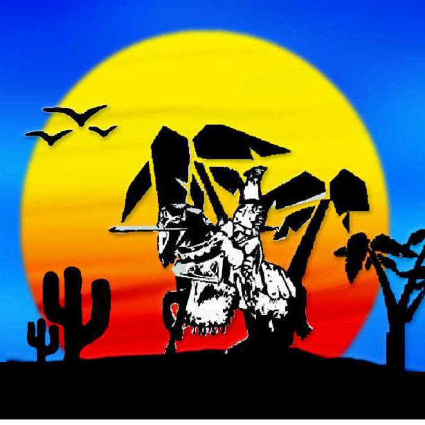 Hot Desert Knights - Icon Logo