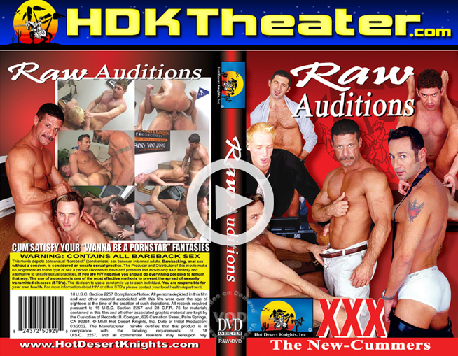 Hot Desert Knights: Raw Auditions