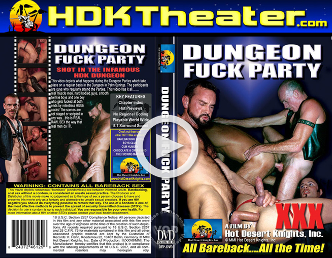 Hot Desert Knights: Dungeon Fuck Party