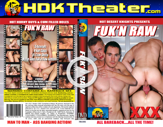 Hot Desert Knights: FUK'N RAW