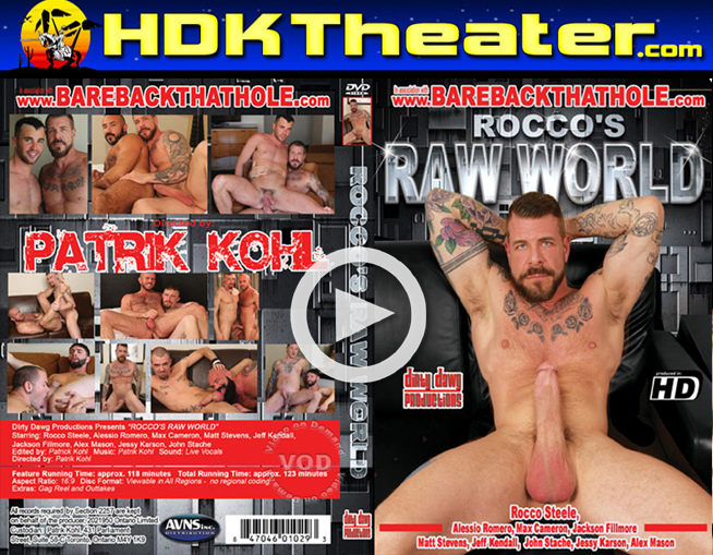 Dirty Dawg: ROCCO'S RAW WORLD