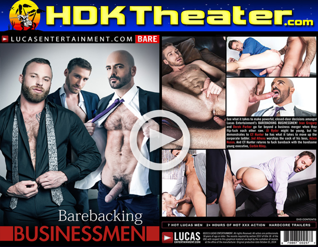 Lucas Entertainment: BAREBACKING BUSINESSMEN