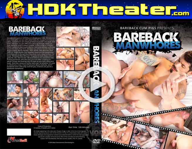 Bareback Cum Pigs: BAREBACK MAN WHORES