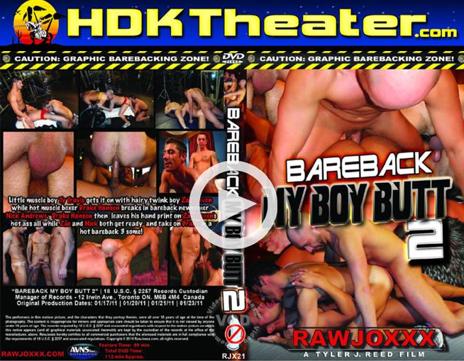 RawJoxxx: BAREBACK MY BOY BUTT 2