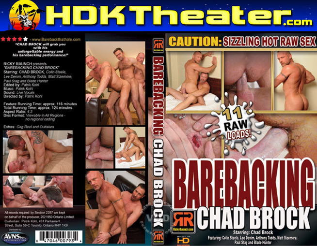 Ricky Raunch: BAREBACKING CHAD BROCK