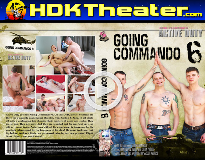 Active Duty: GOING COMMANDO 6