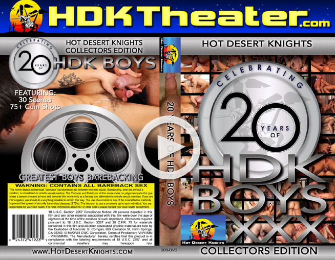 Hot Desert Knights: 20 YEARS OF HDK BOYS