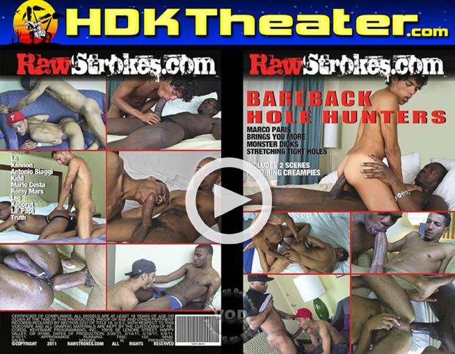 Raw Strokes: BAREBACK HOLE HUNTERS