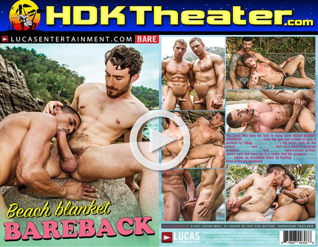 Lucas Entertainment: BEACH BLANKET BAREBACK