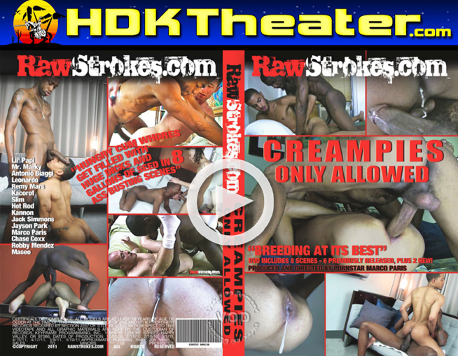 Raw Strokes: CREAMPIES ONLY ALLOWED
