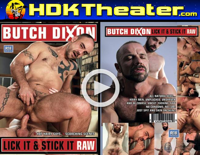 Butch Dixon: LICK IT STICK IT RAW