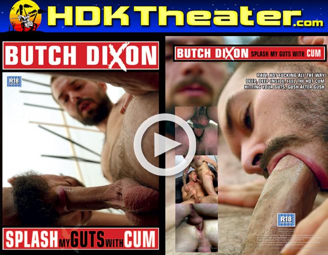 Butch Dixon: SLAP MY GUTS WITH CUM